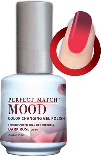 LeChat Mood Color Changing Gel Polish - MPMG34 Dark Rose
