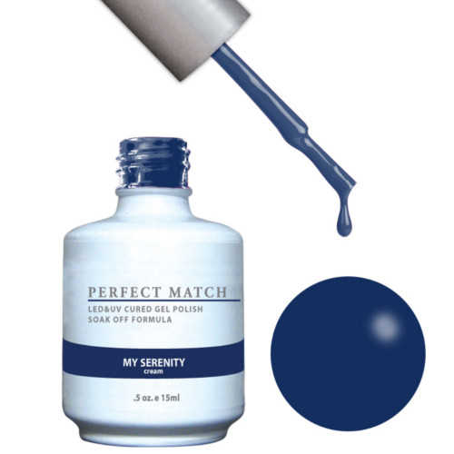 PERFECT MATCH Gel Polish + Lacquer - PMS130 My Serenity