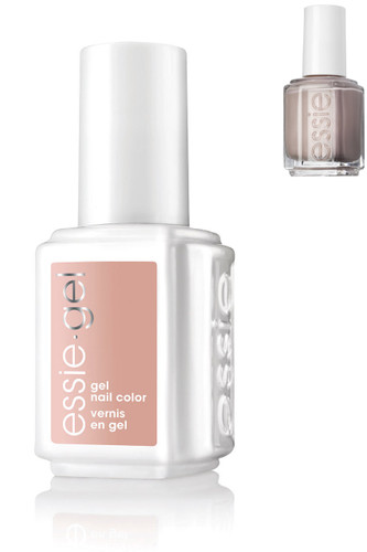 Essie Gel + Lacquer - #744G #744 Topless & Barefoot