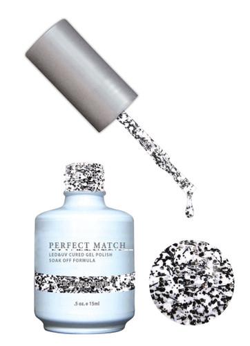 PERFECT MATCH Gel Polish + Lacquer - PMS138 Black Tie Affair