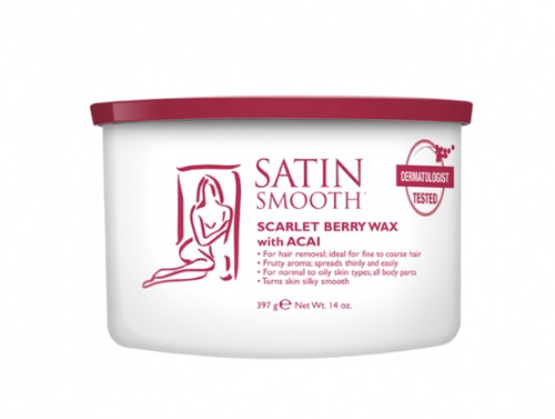 Satin Smooth Scarlet Berry Wax 14 oz