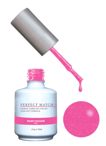 PERFECT MATCH Gel Polish + Lacquer - PMS147 Peony Passion