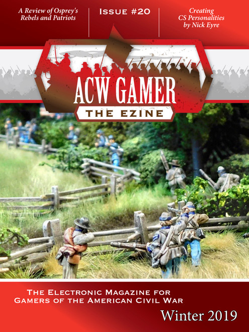 An electronic magazine for hobbyists who like to wargame the American Civil War in miniature on the tabletop.