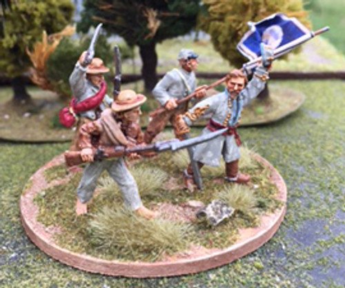 28mm Cleburne at Franklin Vignette