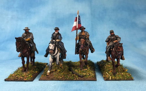 Confederate Generals in greatcoats, Eastern Theater