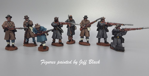 CS Infantry, greatcoats, skirmishing