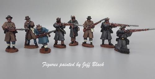 CS Infantry, greatcoats, skirmishing