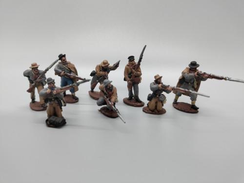 CS Infantry, winter clothing, skirmishing