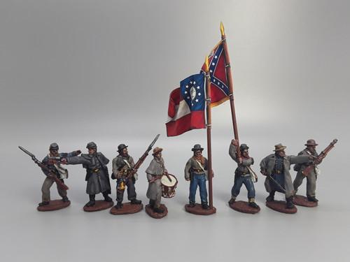 CS Infantry command, winter clothing, skirmishing