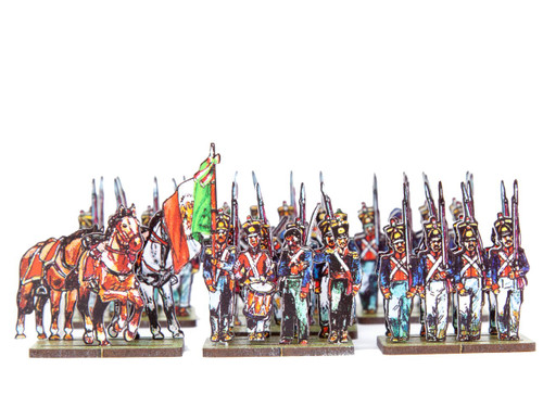 18mm Matamoros Battalion