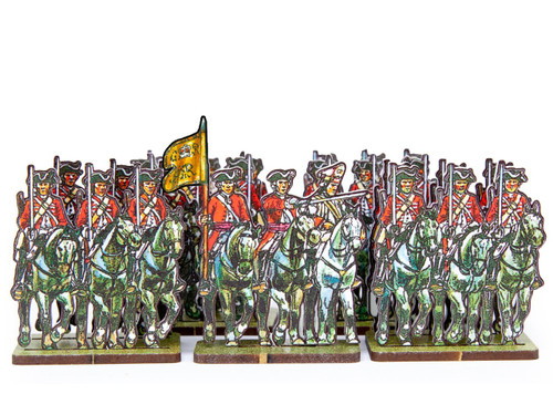 18mm British Army Dragoons