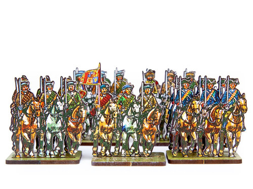 18mm Jacobite Cavalry