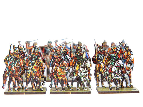18mm Gallic Mercenary Cavalry