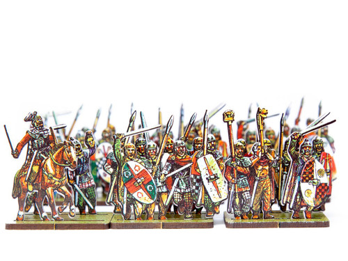 18mm Gallic Armoured Infantry