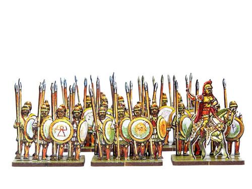 28mm Carthaginian Citizen Spearmen
