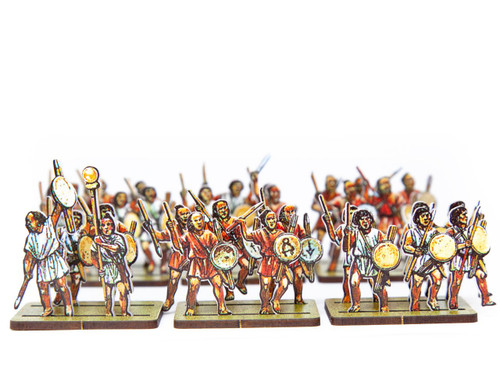 18mm Libyan and Numidian Light  Infantry