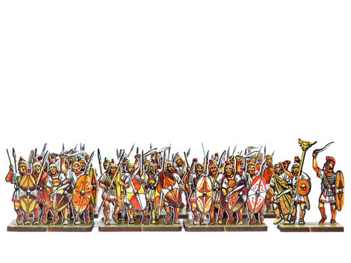 28mm Scutari Iberian Mercenary Heavy Infantry
