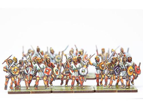 28mm Caetrati Iberian Mercenary Light Infantry