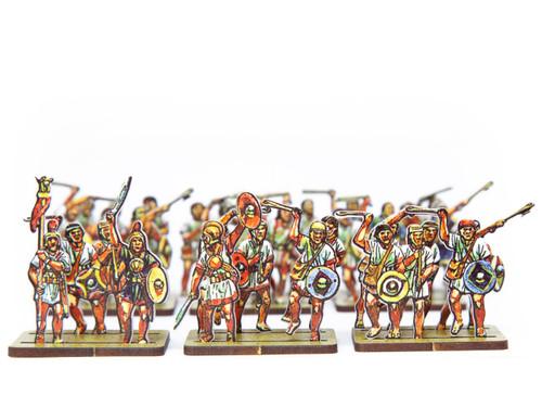 18mm Iberian Slingers (skirmishers)