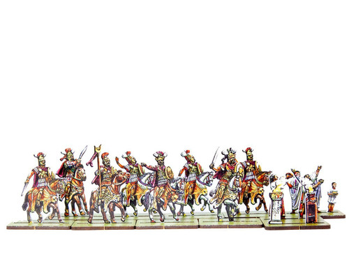 28mm Carthaginian Commanders and Priest