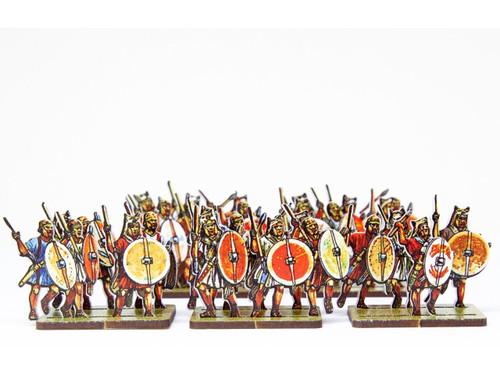 28mm Roman and Italian Allies, Velites, Skirmishing