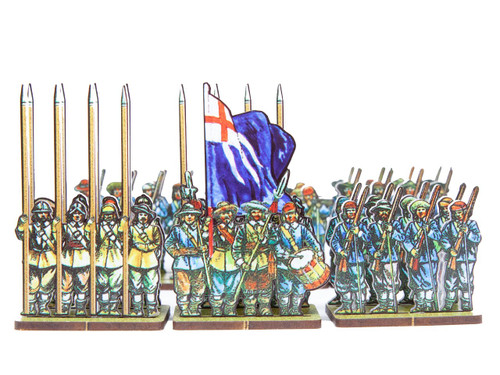18mm ECW Bluecoat Regiment