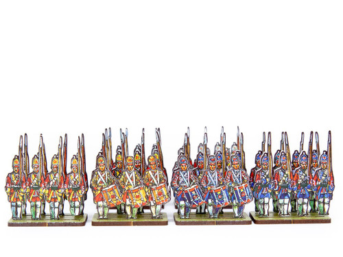 18mm British Army Infantry Grenadiers