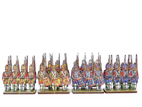 28mm British Army Infantry Grenadiers