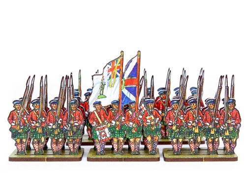 18mm British Army Highland Infantry