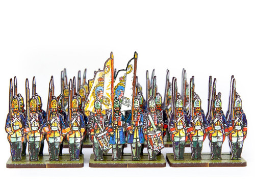 18mm British Army Hessian Grenadiers