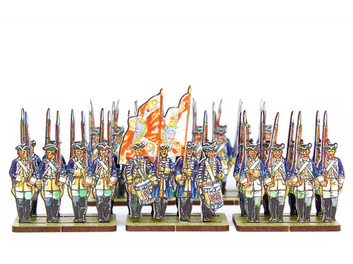 18mm British Army Hessian Infantry