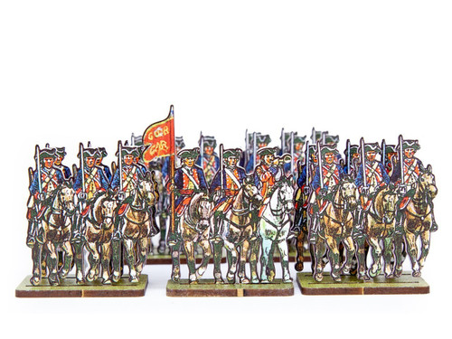"28mm British Army Militia Cavalry ""Kingston's Light Horse"""
