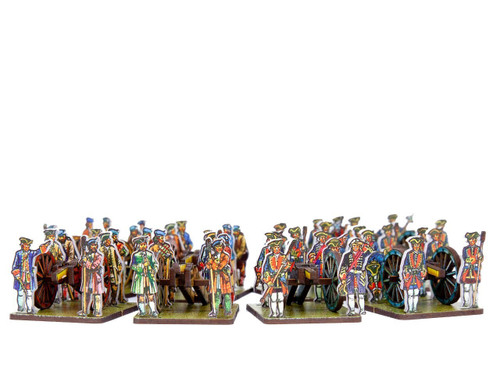 28mm British & Jacobite Artillery
