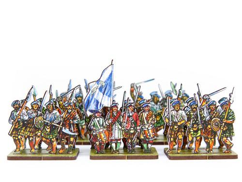 18mm Jacobite Highlanders