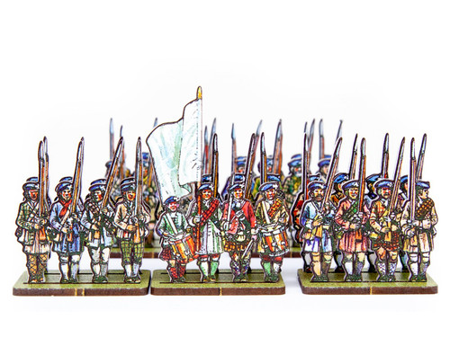 18mm Jacobite Lowland Infantry
