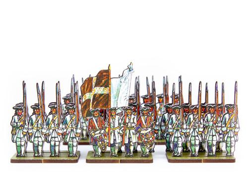 18mm Jacobite French Regular Infantry