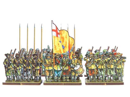 18mm ECW Yellowcoat Regiment