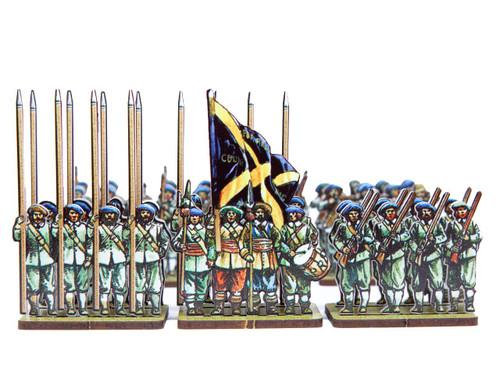 18mm ECW Covenanter Regiment