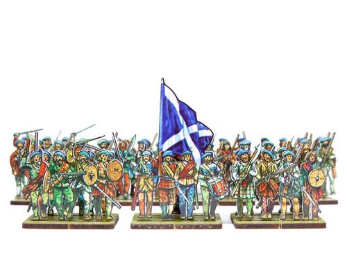 28mm ECW Highlanders Regiment