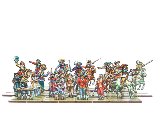 18mm ECW Officers and Characters
