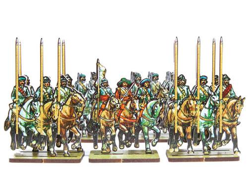 28mm ECW Scots Cavalry
