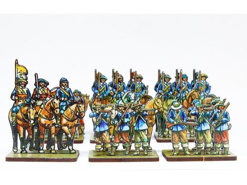 18mm Royalist Dragoons