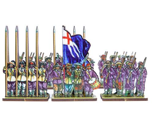 28mm ECW Purplecoat Regiment