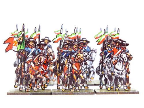 28mm Mexican Presidial Cavalry
