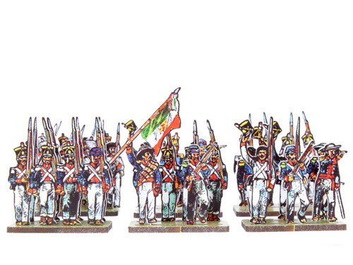18mm Mexican Grenadiers and Light Companies