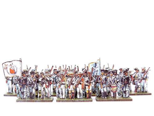 28mm Texian Volunteers and Tejanos