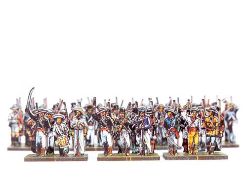 18mm Texian Infantry