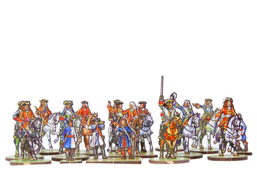 18mm British and Allied Generals and mounted officers
