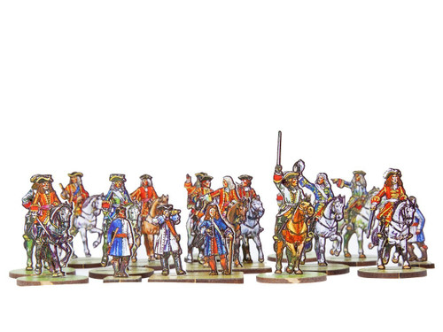 28mm British and Allied Generals and mounted officers