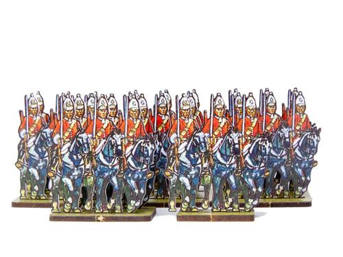 28mm Mounted British Grenadiers